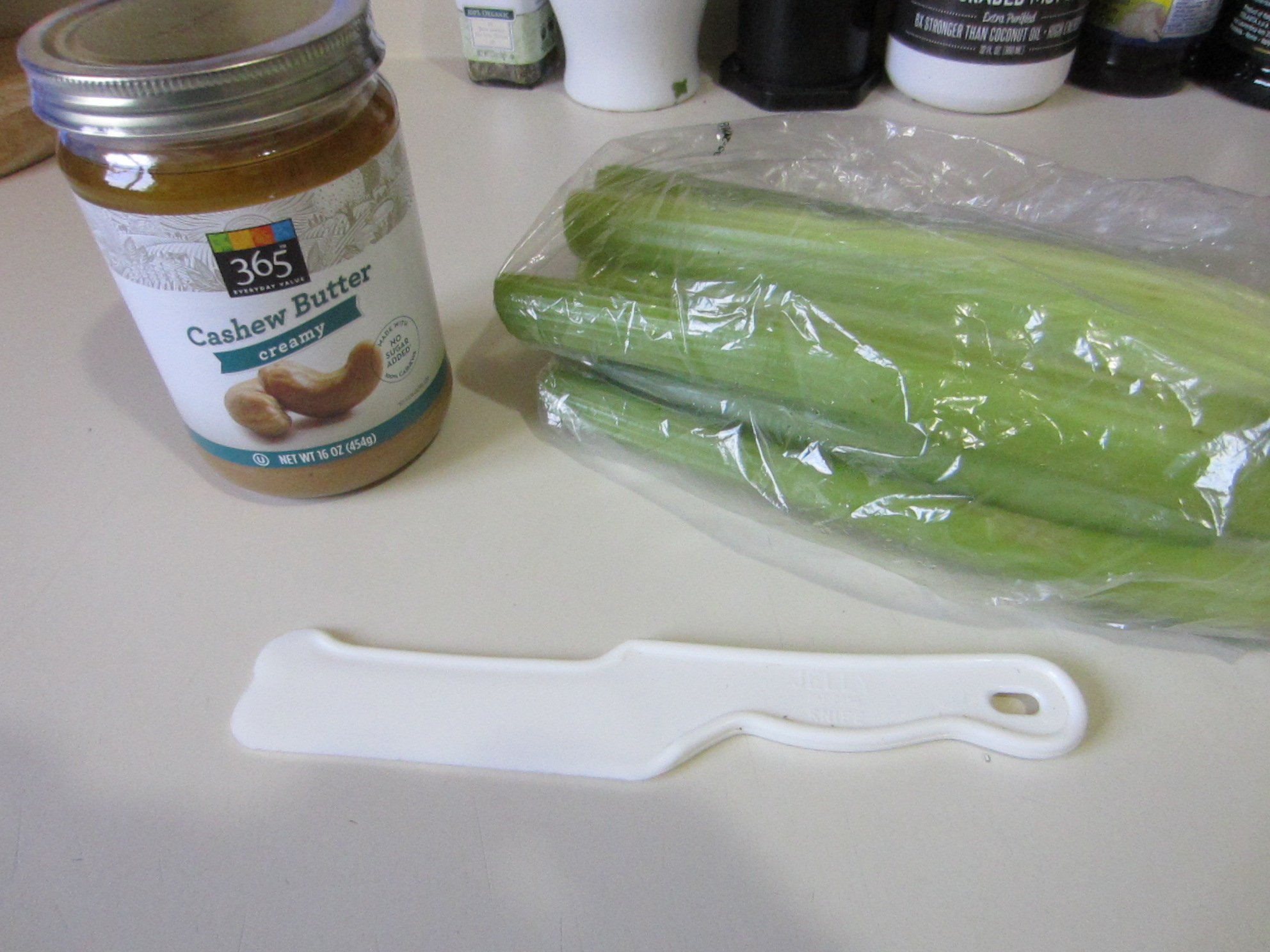 Celery and Cashew Butter